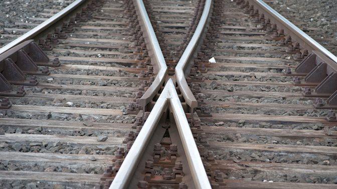Schienenkreuz